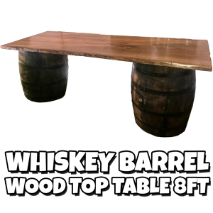 Whiskey-Barrel-Wood-Top-Table-8ft
